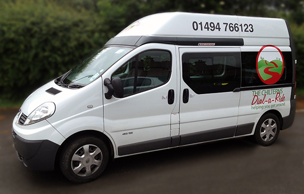 The Chilterns Dial-a-Ride minibus